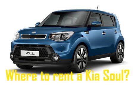 Kia Rental by Kia Soul Rentals Where To Rent Kia News