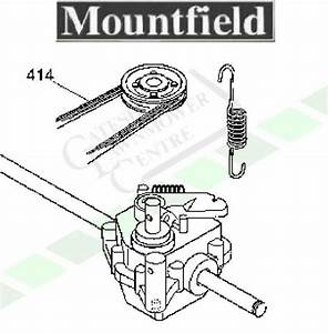 Mountfield Sp164   Sp414 Drive Belt