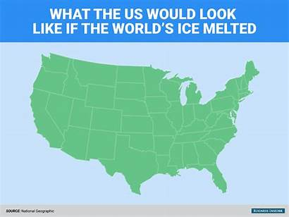 Ice Change Climate Melted Earth Would America
