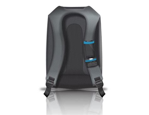 quirky trek support backpack integrated charging station