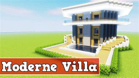 Wie Baut Man Eine Moderne Villa In Minecraft Minecraft