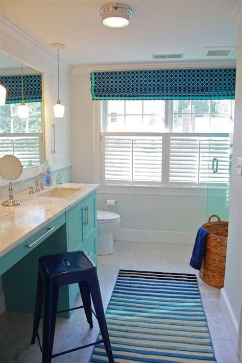 aqua vanity contemporary bathroom kristina crestin