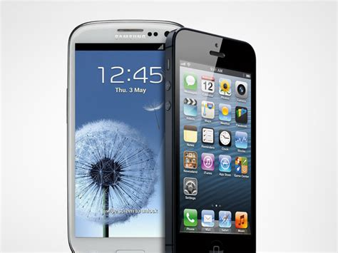 iphone or galaxy iphone 5 vs samsung galaxy s iii at t spec shootout