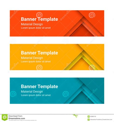 Free Header Templates by 18 Free Banner Templates Free Sle Exle Format