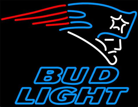 bud light neon sign nfl bud light new patriots neon sign neon