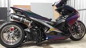 Yamaha Aerox 155 Extreme Modify