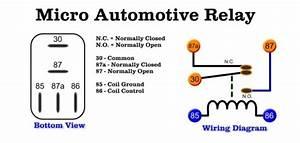 Car Relay Switch Diagram