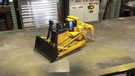 3D Printed 1/14 Scale Caterpillar D10 Dozer Bench Test ...