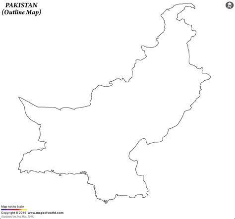 blank map  pakistan pakistan outline map