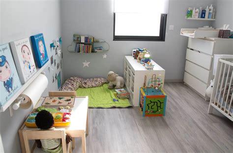 amenagement chambre 2 enfants amenagement chambre bebe montessori visuel 2