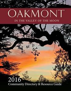 Oakmont 2016 Resource Guide By Association Outsource