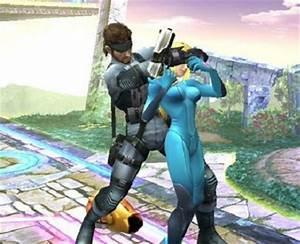 Gallery Zero Suit Samus And Snake In Love