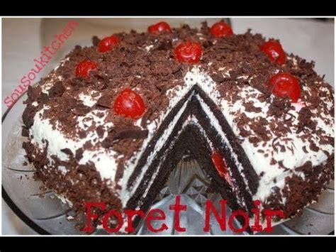 recette de gateau foret black forest cake