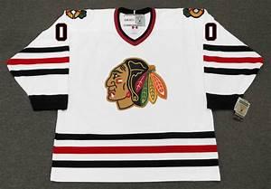 Clark Griswold Blackhawks Vintage Throwback Hockey Nhl Jersey