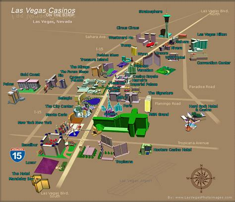 navigating las vegas strip hotels casinos and attractions