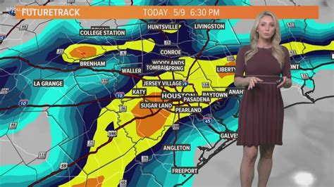 Houston — as expected, strong storms moved into the houston area thursday night, dropping hail in parts of southeast texas and bringing more street flooding. Houston Flash Flood Watch: Thursday morning's forecast with Chita Craft | May 9, 2019 | khou.com