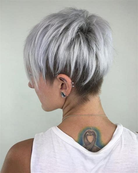 20 Collection Of Gray Short Hairstyles