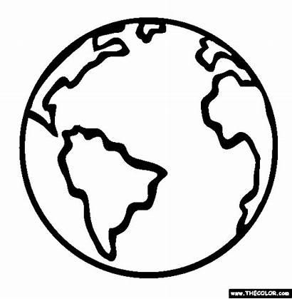 Coloring Globe Earth Clipartpanda Pages Colour Clipart