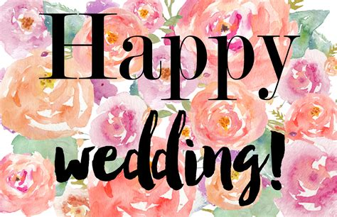 happy wedding engagement card  storenvy