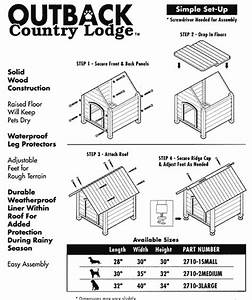 how to choose the right size doghouse With large dog house measurements