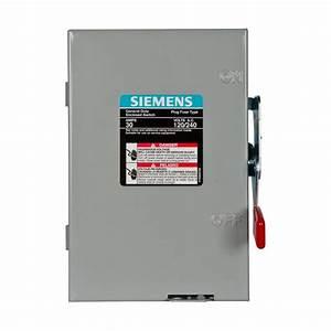 Ge 30 Amp 240