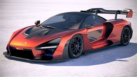 2019 Mclaren Models by Mclaren Senna 2019 3d Model Turbosquid 1237157