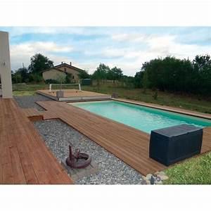 Piscine Avec Terrasse Bois : terrasse mobile de piscine movingfloor d 39 octavia ~ Nature-et-papiers.com Idées de Décoration
