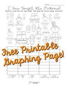 free thanksgiving graphing worksheet kindergarten grade squarehead teachers