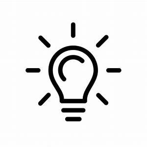 Image Gallery light bulb idea icon