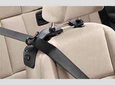 BMW Genuine Left + Right Headrest Seat Belt Holders Set