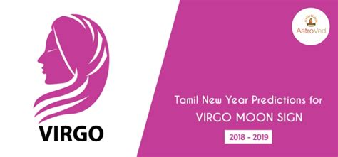 Tamil New Year Predictions For Virgo Moon Sign 2018