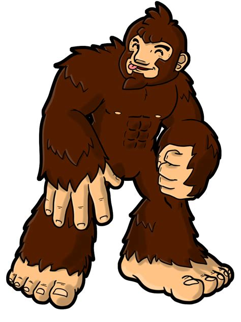 Bigfoot Clipart Bigfoot Character Clip Clipart Collection 3