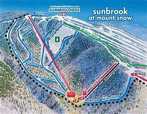 2014-15 Mount Snow Sunbrook Trail Map - New England Ski Map Database