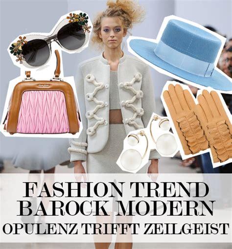 Barock Modern by Barock Modern Ist Neuer Fashion Trend Im Fr 252 Hjahr 2015