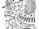 Harp Coloring Getdrawings Seal sketch template
