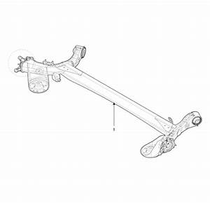 Hyundai Accent  Rear Torsion Beam Axle  Components And