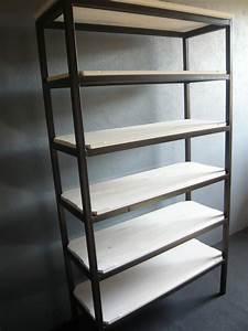 Etagere En Fer Pour Garage : etageres en fer ~ Edinachiropracticcenter.com Idées de Décoration