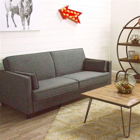 world market sofa bed charcoal gray nolee folding sofa bed world market