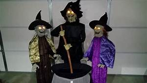 3 Witches Halloween Prop