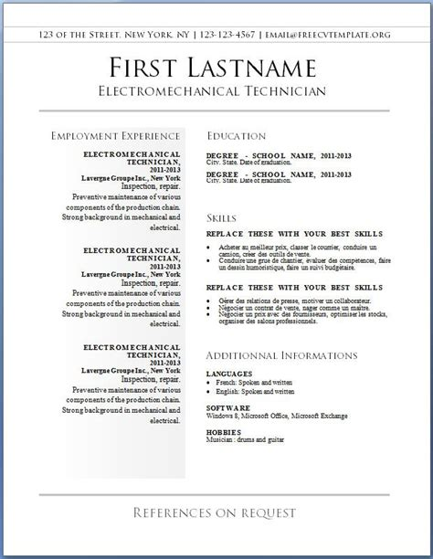Free Resume Search by 17 Best Images About Resume On You Re Next