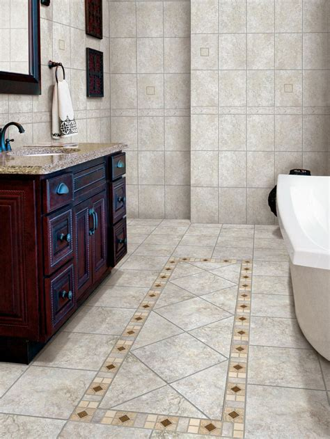 tiling  bathroom floor  tips interior