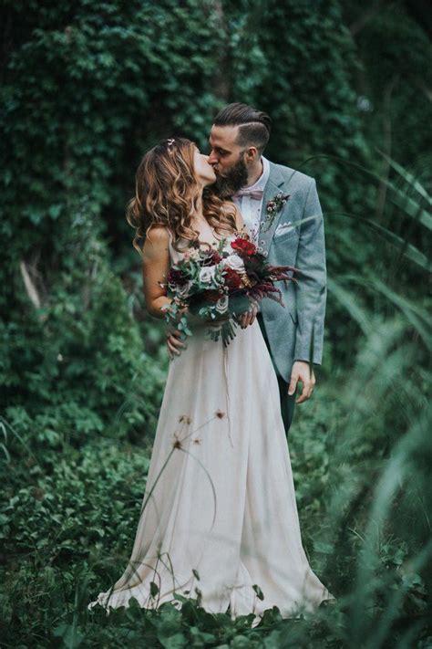 earthy elegant wedding  perth city farm junebug weddings