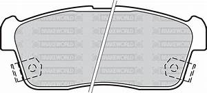 Oem Spec Front Discs And Pads 246mm For Daihatsu Yrv 1 3