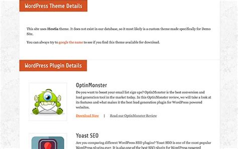 find  wordpress theme  site
