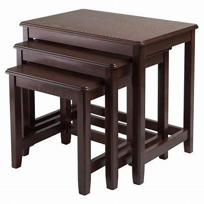 Nesting Tables Table 3pc Trina Winsome Decorative