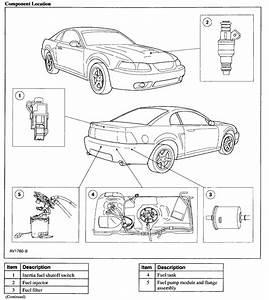 2002 Mustang Fuel Filter Location