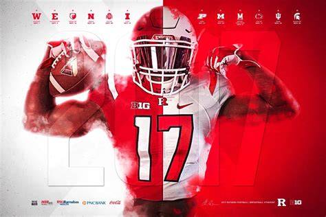 college football poster spring watchlist poster swag
