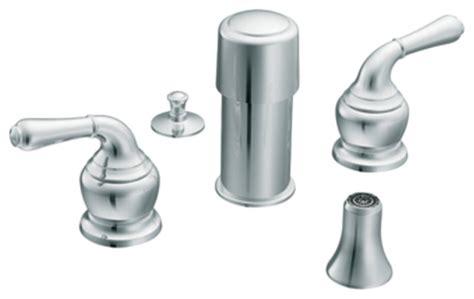contemporary kitchen faucets moen t5270 chrome bidet faucet trim two lever handle 8 quot 16 2488