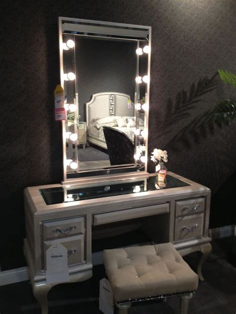 makeup vanity table with lights and mirror bedroom vanities with classic and modern design