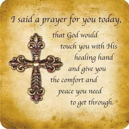 a prayer of comfort i said a prayer lord mercy may this prayer brings